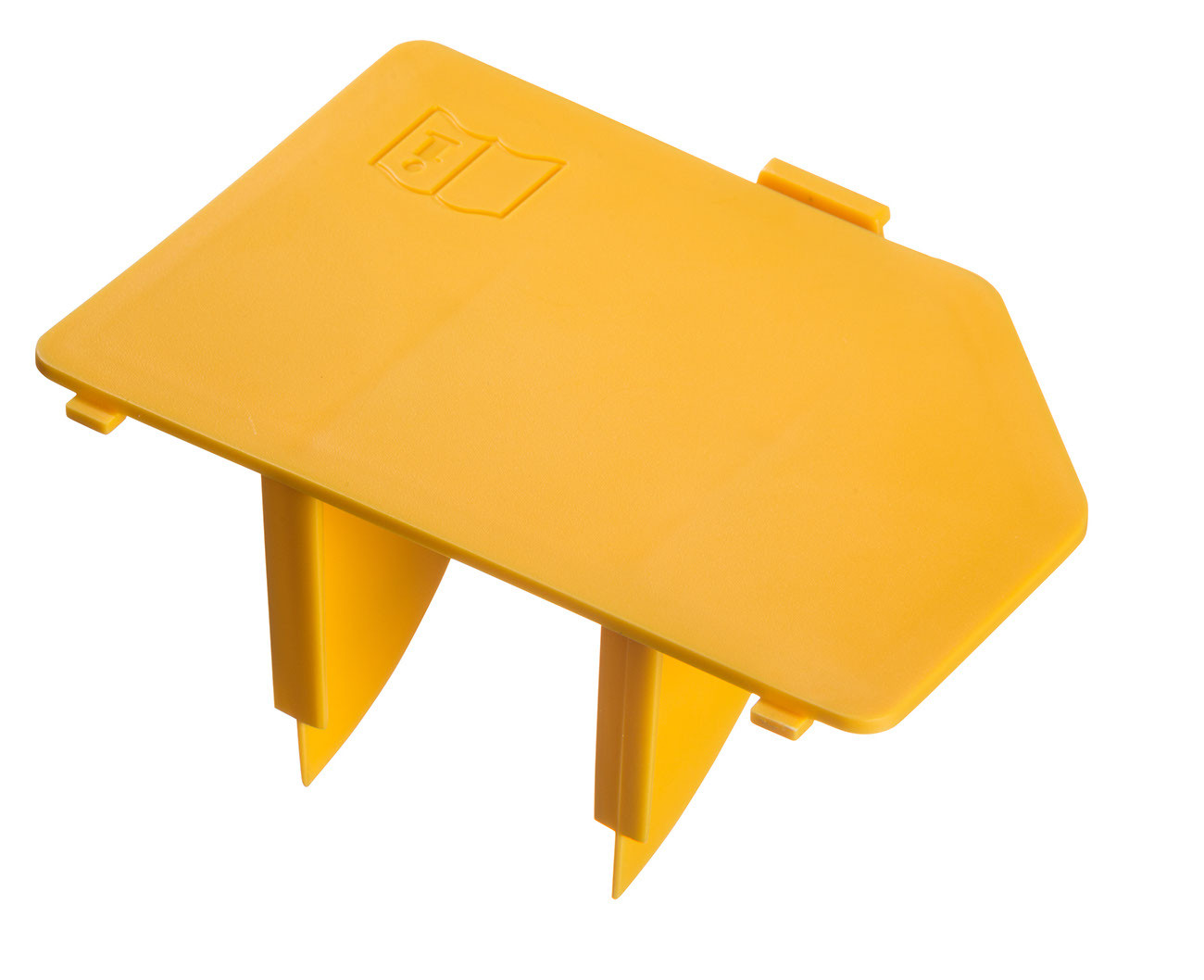 Cover air filter, yellow, W 890 Flexio