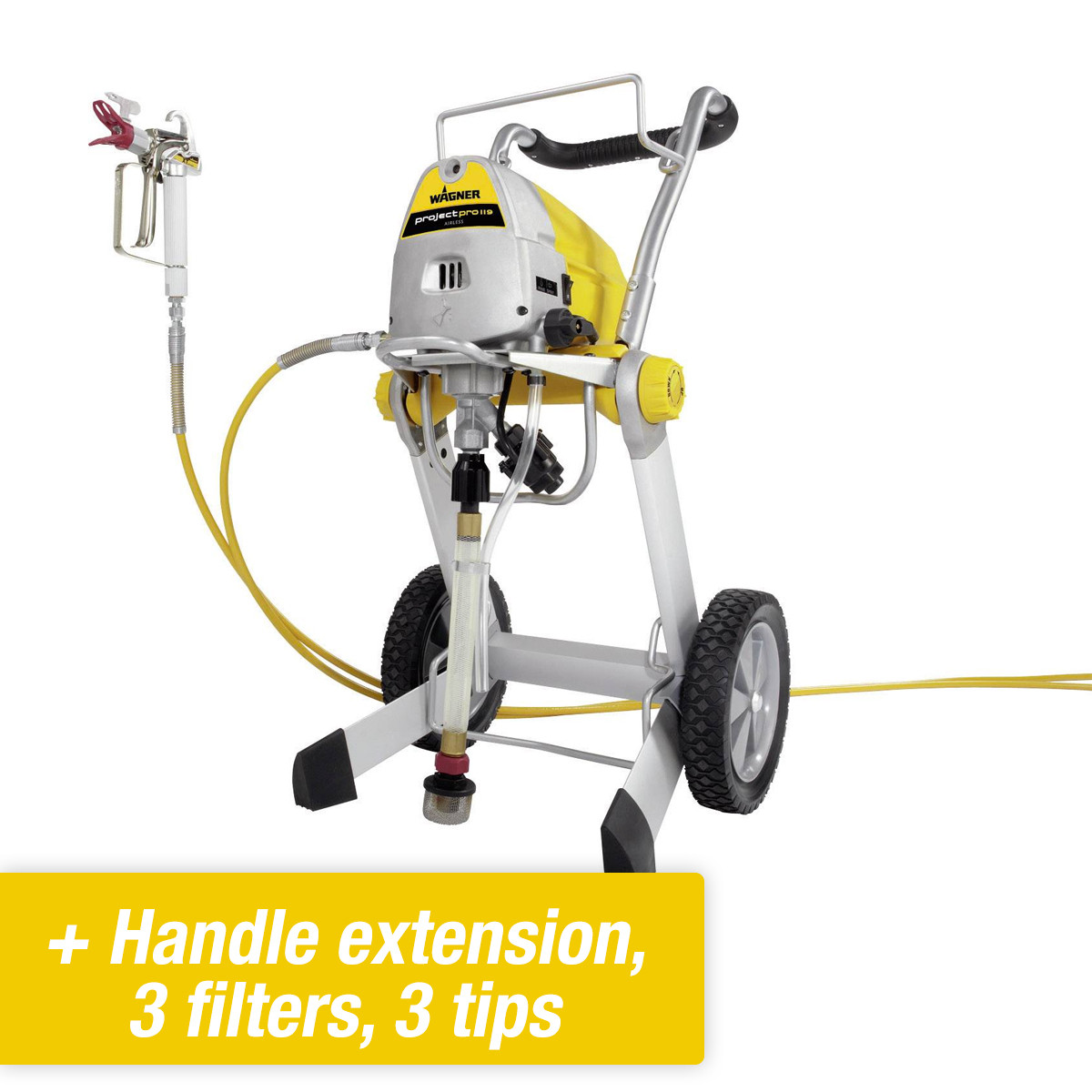 Super Wagner Project Pro 119 Airless Paint Sprayer BO58