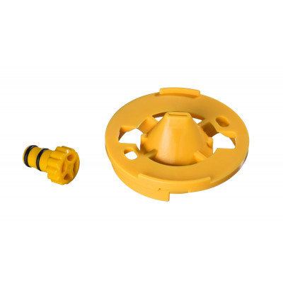 Spare parts set nozzle with seal