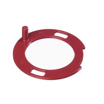 Controller for spray jet width incl. O-ring, red, W 990 Flexio